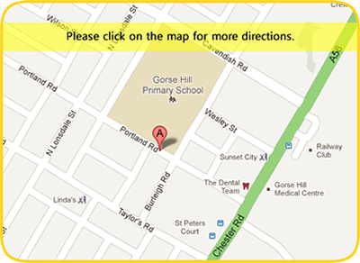 Gorse Hill Primary School Directions